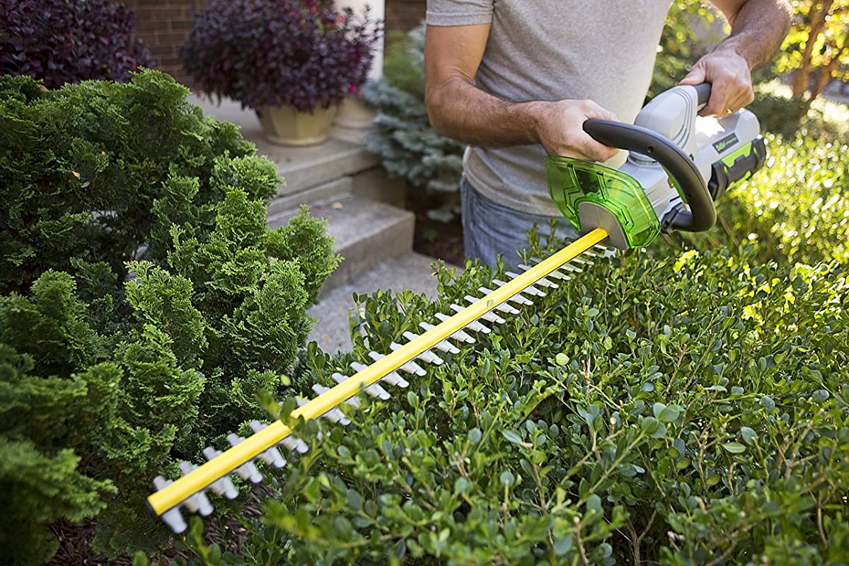 EGO Power+ 24-Inch 56-Volt Lithium-ion Cordless Hedge Trimmer - 2.0Ah Battery and Charger Kit