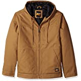 Timberland PRO Men's Big and Tall Baluster Insulated Hooded Work Jacket, Dark Wheat, Medium (Color: Dark Wheat, Tamaño: Medium)