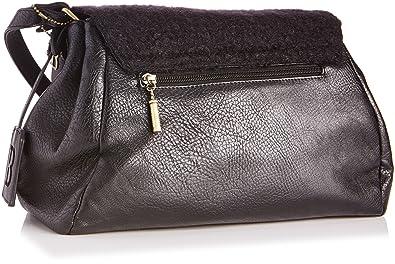 Bulaggi 29696, sac bandoulière femme - Noir - Noir, 35x23x16 ...