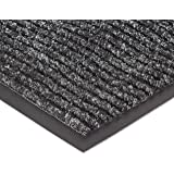 NoTrax 109S0035CH Brush Step Entrance Mat, for Lobbies and Indoor Entranceways, 3' Width x 5' Length x 3/8