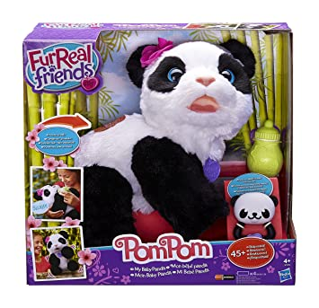 POM POM PANDA FUR REAL FRIENDS HASBRO