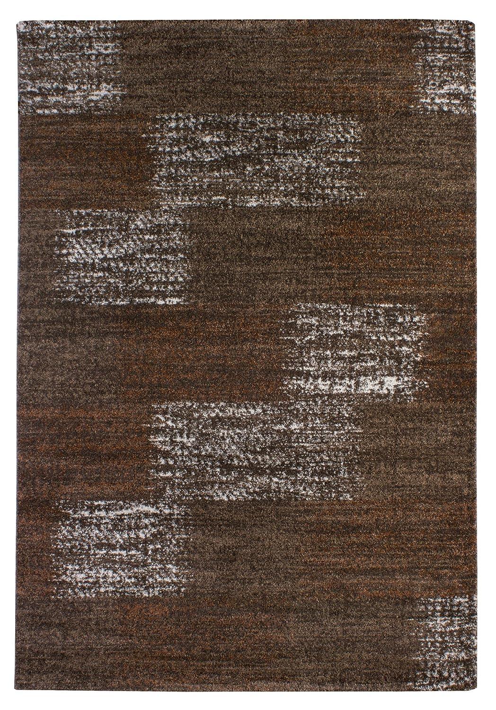 """TEPPICHWELT SONA-LUX Teppich gewebt braun """"Größe auswählen"""" 160 x 230 cm"""