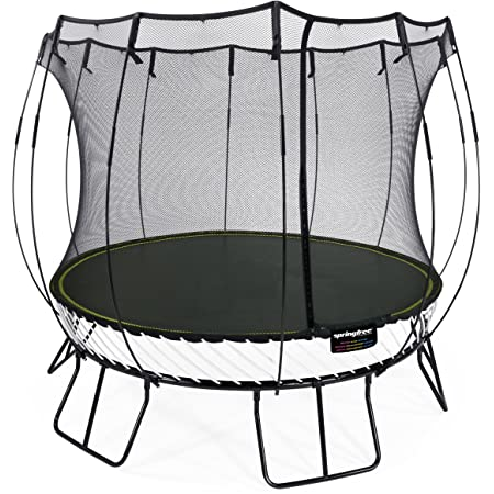 Springfree® 10ft Medium Round Trampoline - R79 With FlexrHoop and FlexrStep