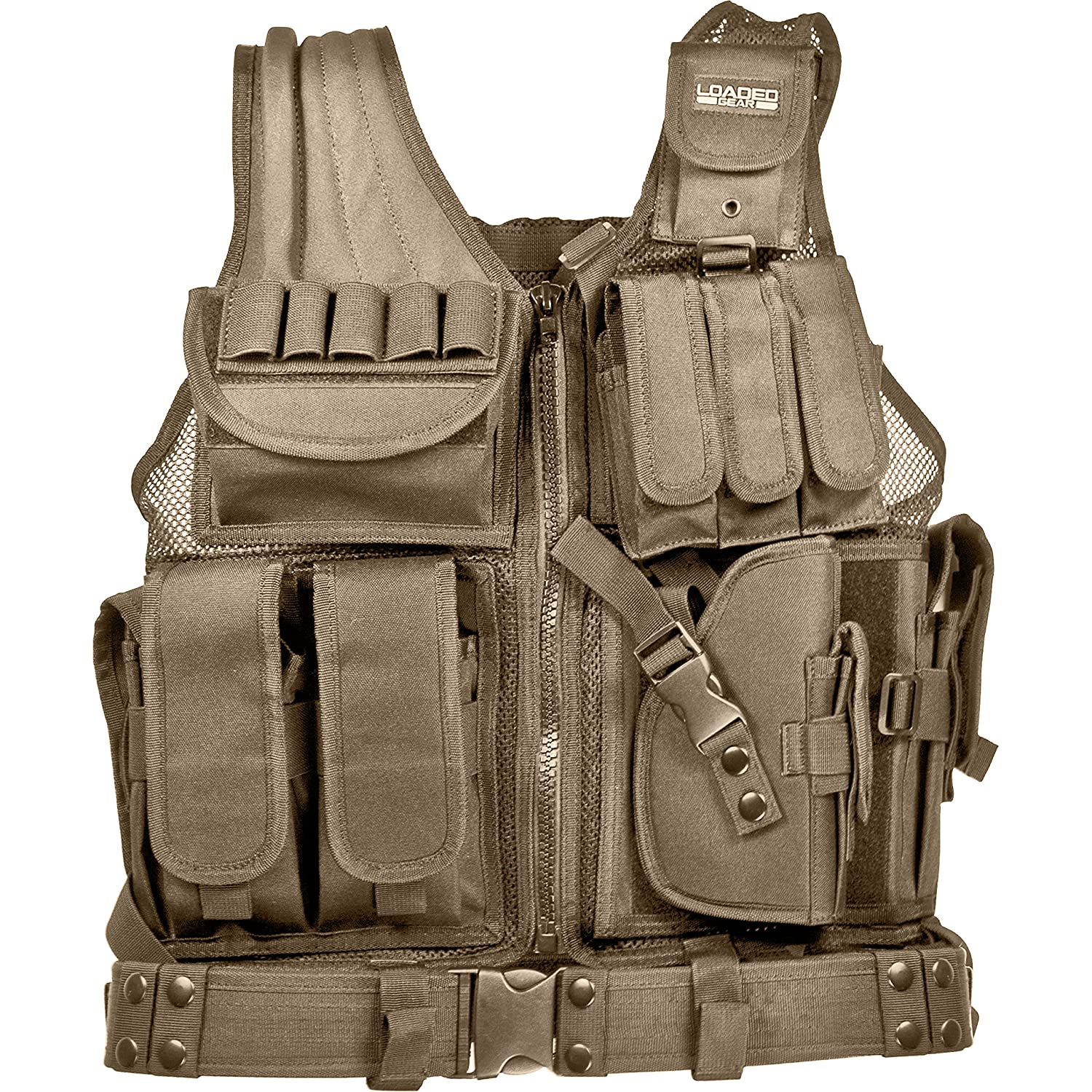 Barska Optics BI12346 VX-200 Tactical Vest, Tan