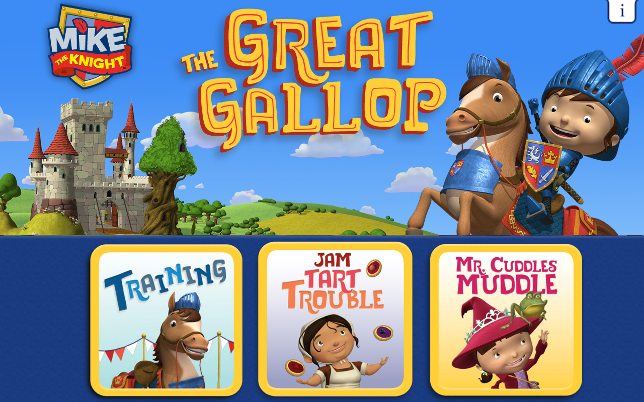 Mike The Knight: The Great Gallop(Kindle Tablet Edition)