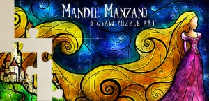 Mandie Manzano Jigsaw Puzzle Art: Puzzles with Beautiful Pictures from Octo Mini