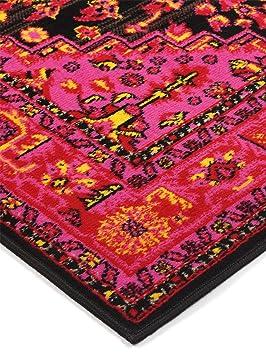 benuta tapis de salon moderne moderne vintage swing pas cher rouge 120x170 120x170 cm 100. Black Bedroom Furniture Sets. Home Design Ideas