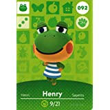 Animal Crossing Happy Home Designer Amiibo Card Henry 092/100