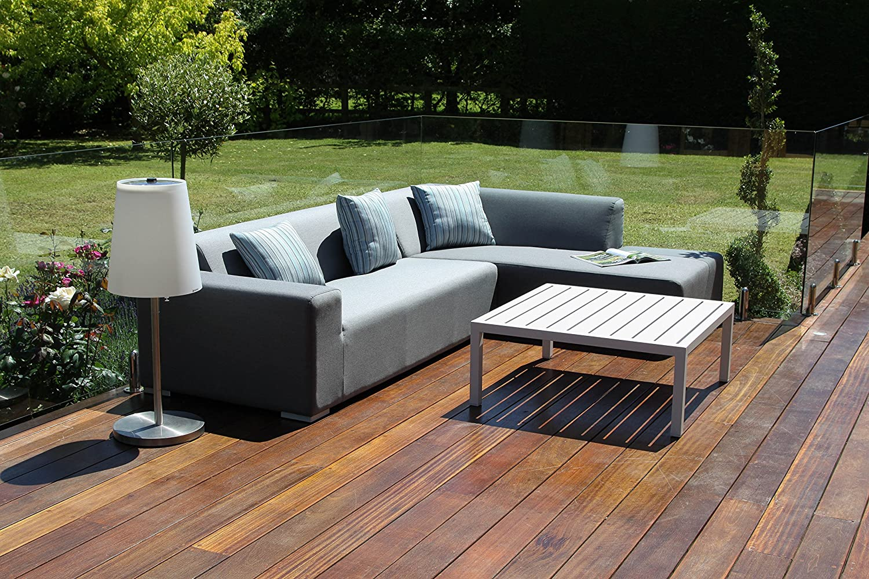 Stoff Lagos Outdoor Garten Möbel Sunbrella Ecke Sofa-Set günstig