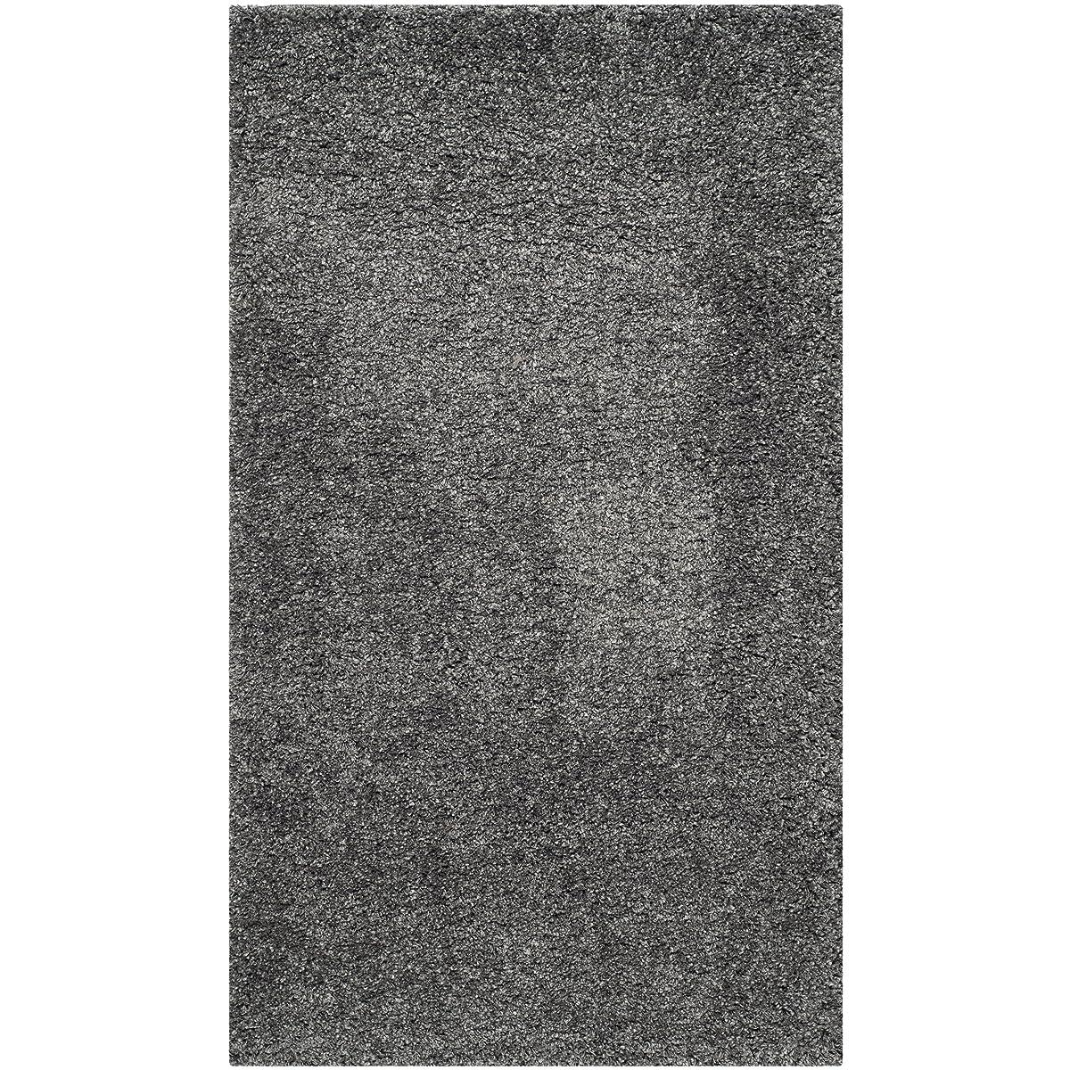Safavieh California Shag Collection SG151-8484 Dark Grey Area Rug (8 x 10)