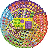 HORIECHALY Scratch and Sniff Stickers for Kids&Teachers,48 Sheets with 16 Scents Smelly Stickers, Variety Packs Super Scented Reward Stickers Halloween Treats Birthday Gift,Party Favors.