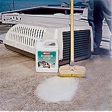 B.E.S.T. 55048 Rubber Roof Cleaner & Protectant Bottle - 48 oz.