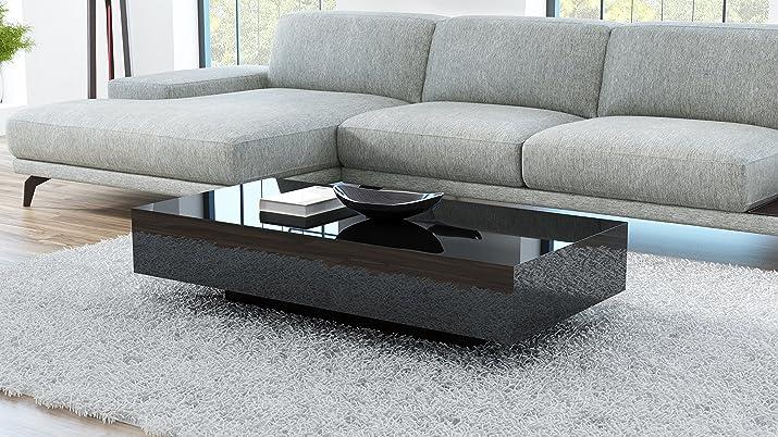 Tavolino da salotto VIENNA 120 nero