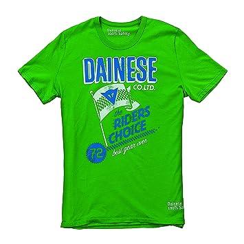 Dainese 1896384_006_M Riders T-Shirt, Vert, Taille : 38