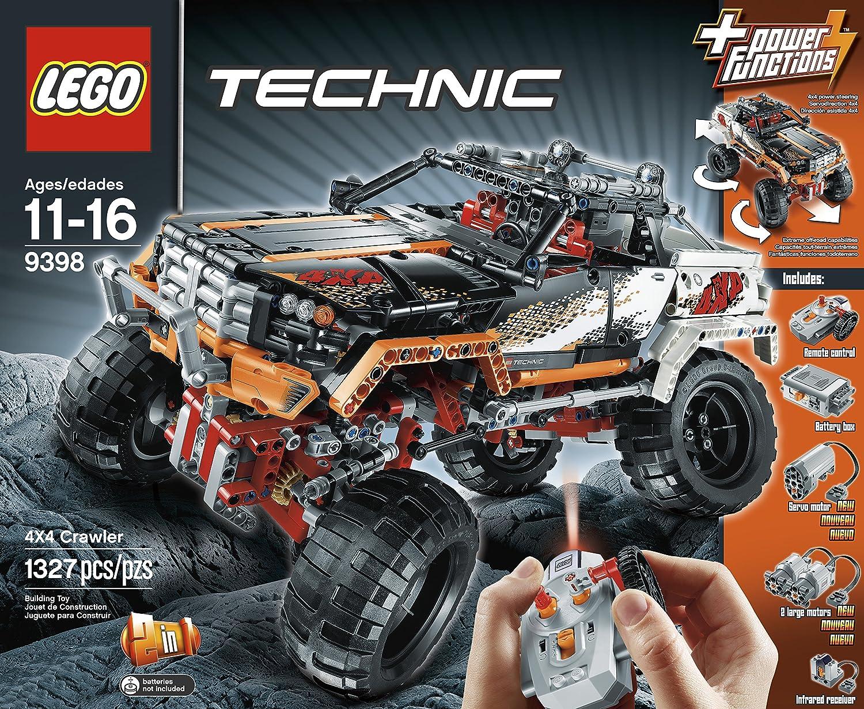lego technic 9398 4x4 offroader einfach nur genial meiner meinung nach ferngesteuertes auto. Black Bedroom Furniture Sets. Home Design Ideas