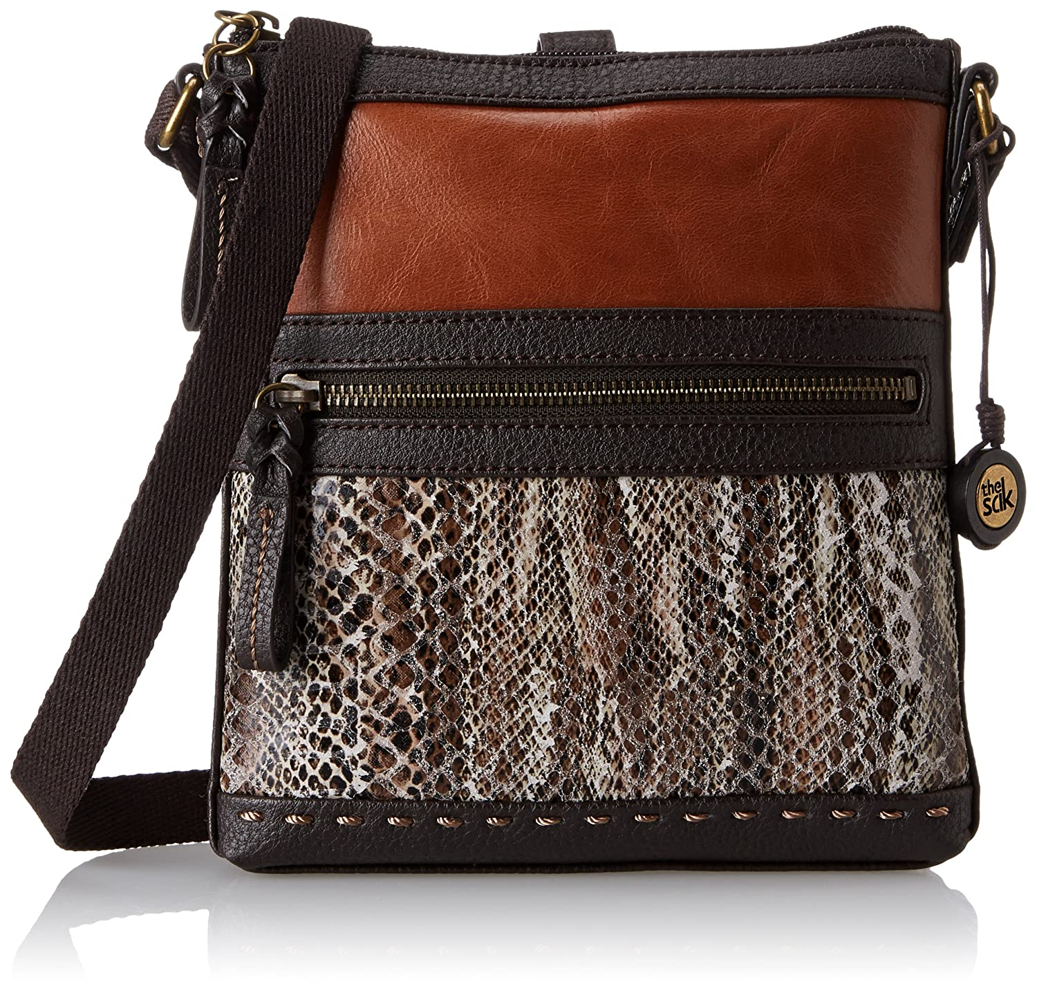 The SAK Pax Swing Pack Cross Body Bag,Brown Snake Multi,One Size