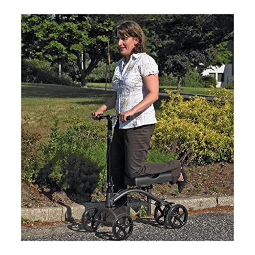 Drive Medical DV8 aluminum steerable knee walker Overall