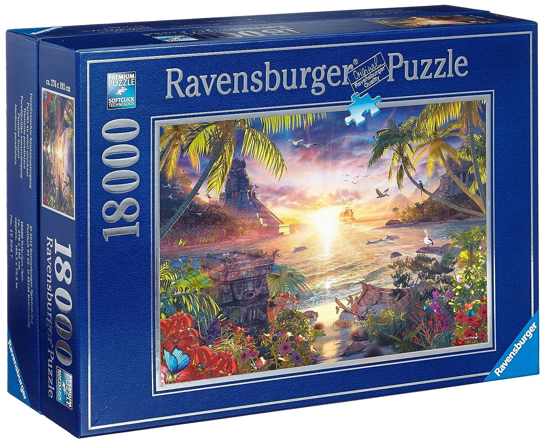 Ravensburger 17824 - Paradiesischer Sonnenuntergang-Puzzle,
