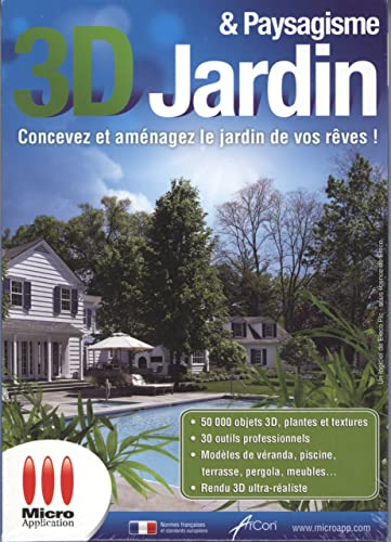 3d jardin amp paysagisme logiciels for Architecte 3d amazon
