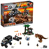 LEGO Jurassic World Carnotaurus Gyrosphere Escape 75929 Building Kit (577 Piece) (Color: Multi-colored)