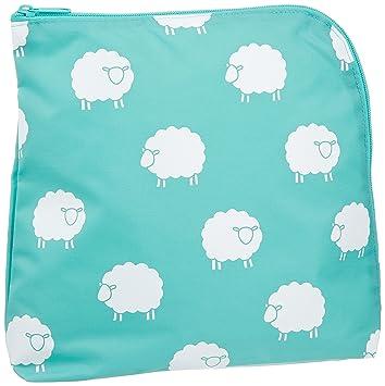 【クリックで詳細表示】【アラキエール】布ナプキンにも最適! 抗菌・消臭おむつポーチ sheep 415009: ベビー&マタニティ
