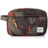 Herschel Supply Co. Chapter Neoprene Toiletry/Dopp Kit, Dark Olive Palm (Color: Dark Olive Palm, Tamaño: One Size)