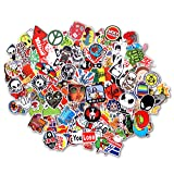 StillCool Stickers Pack of 100 Skateboard Snowboard Vintage Vinyl Sticker Graffiti Laptop Luggage Car Bike Bicycle Decals Mix Lot Fashion Cool (Tamaño: 100pcs)