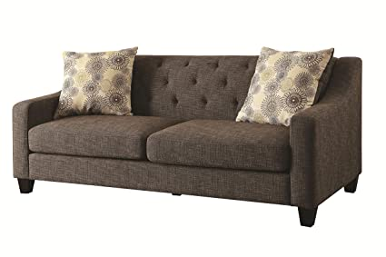 Contemporary Sofa in Charcoal
