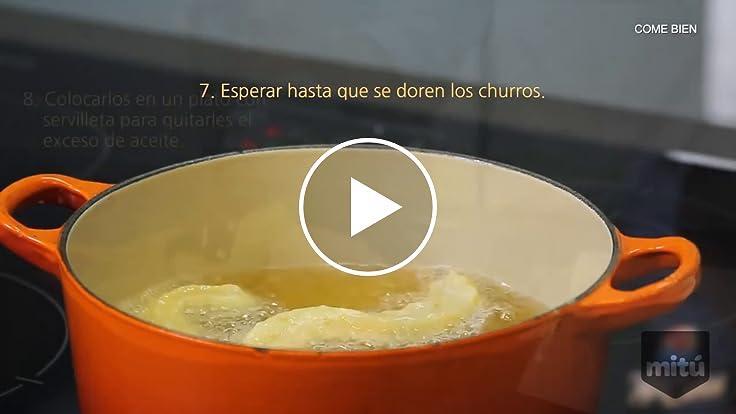 Cómo hacer churros rellenos con cajeta