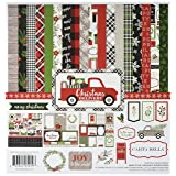 Carta Bella Paper Company CBCD58016 Christmas Delivery Collection Kit (Tamaño: 1-Pack)