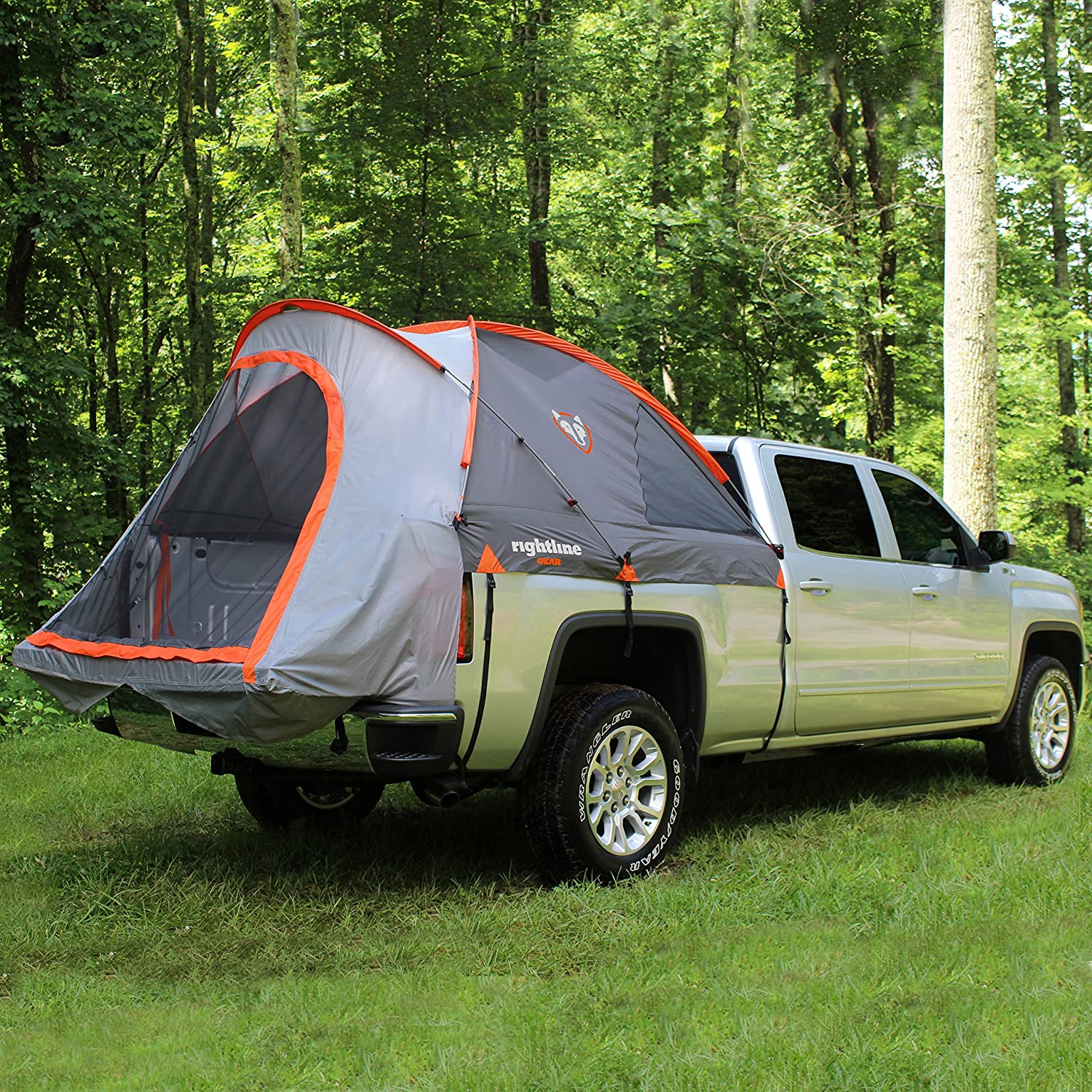 sportz outdoor truck tent compact 6 5 39 full size bed camping travel 2 person ebay. Black Bedroom Furniture Sets. Home Design Ideas
