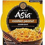 Simply Asia Roasted Peanut Noodle Bowl, Authentic Asian Instant Noodle Bowl, Vegan Noodles, 8.5 oz