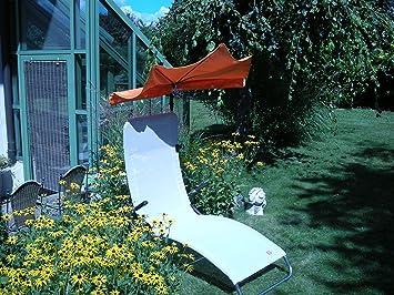 Jardín-terassen-Tiempo libre-Liegen Juego-terassen Camilla Jan Kurtz-Samba-Mendler-Solo 5,4kg-Color Plata Gris-Outdoor Mendler-&
