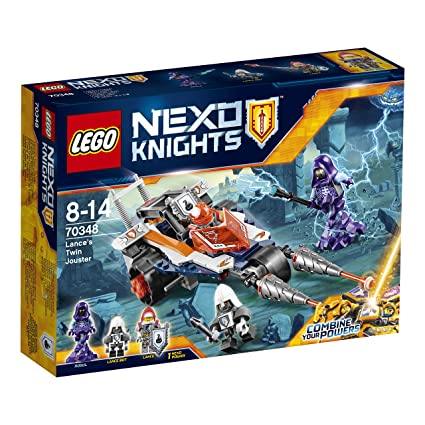 LEGO - 70348 - Nexo Knights  - Jeu de Construction -Le double tireur de Lance