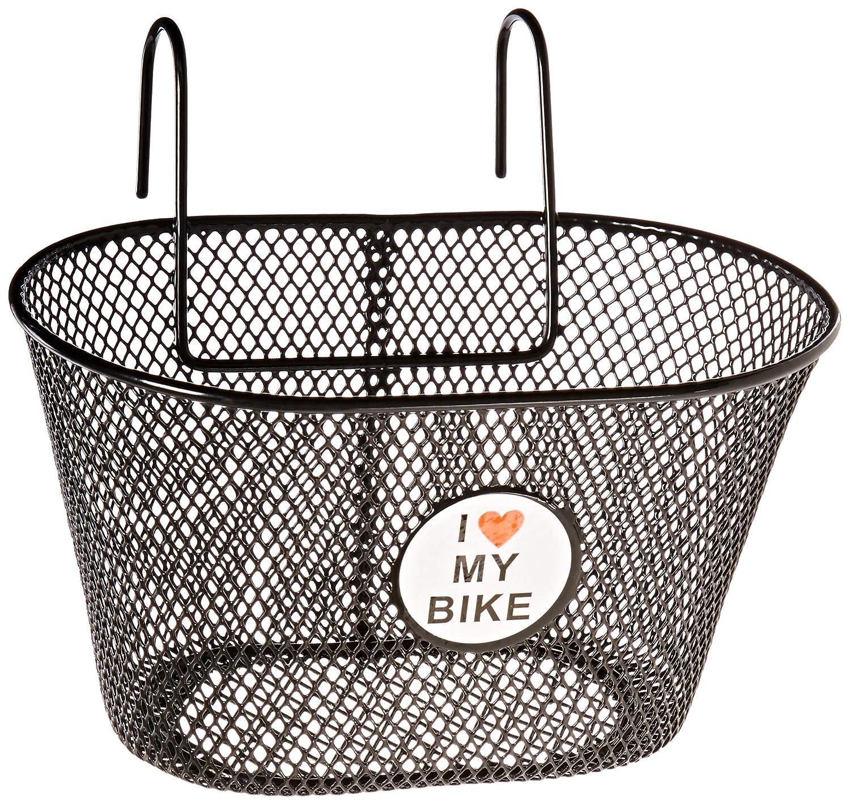 bike baskets wire rack mounting bracket storage cycling for handlebar stem black ebay. Black Bedroom Furniture Sets. Home Design Ideas
