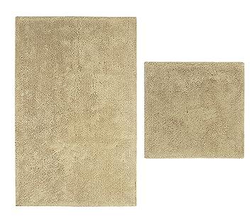 casalanas albarella albarella doux tapis de bain antid rapant 100 coton naturel. Black Bedroom Furniture Sets. Home Design Ideas