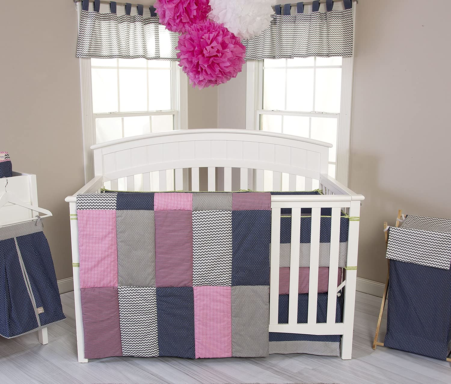 Trend Lab Perfectly Pretty Crib Bedding