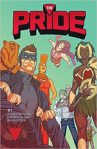 The Pride #1 written by Joe Glass