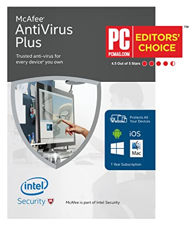 McAfee 2016 AntiVirus Plus Unlimited Device [Online Code]