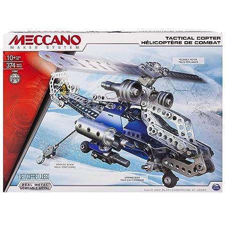 Meccano - 6024816 - Jeu de Construction - Hélicoptère de Combat