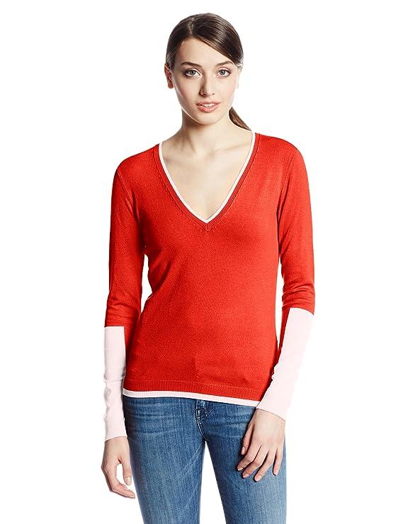525 America Women's V-Neck Color Block