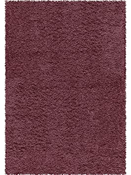 benuta tapis shaggy shaggy poils longs longues m ches loft pas pas cher mauve 160x230. Black Bedroom Furniture Sets. Home Design Ideas