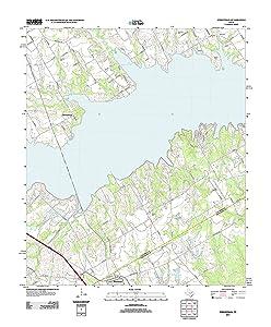 Topographic Map of Streetman, Texas