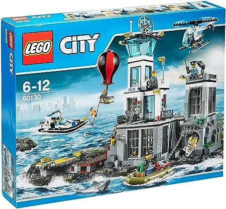 LEGO - 60130 - City - Jeu de construction  - La Prison en Haute Mer