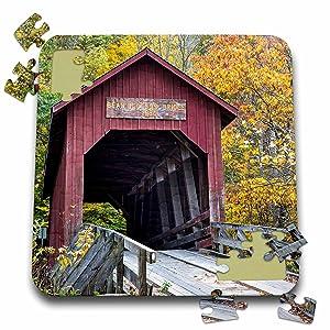 Bean Blossom Covered Bridge jigsaw puzzle