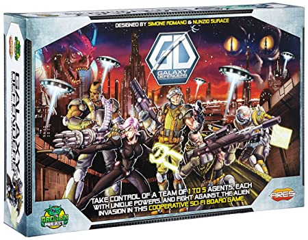 Galaxy Defenders Board Game