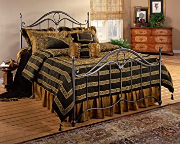 Hillsdale Furniture 1290BK Kendall Bed Set, King, Bronze