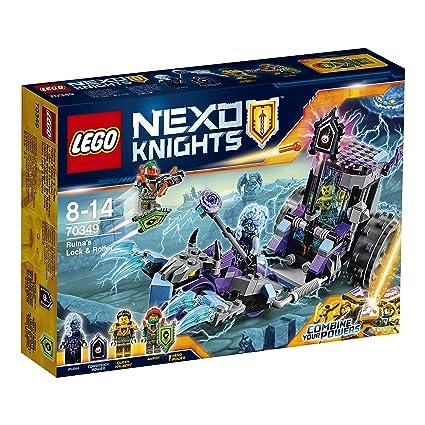 LEGO - 70349 - Nexo Knights  - Jeu de Construction -Le char de combat de Ruina