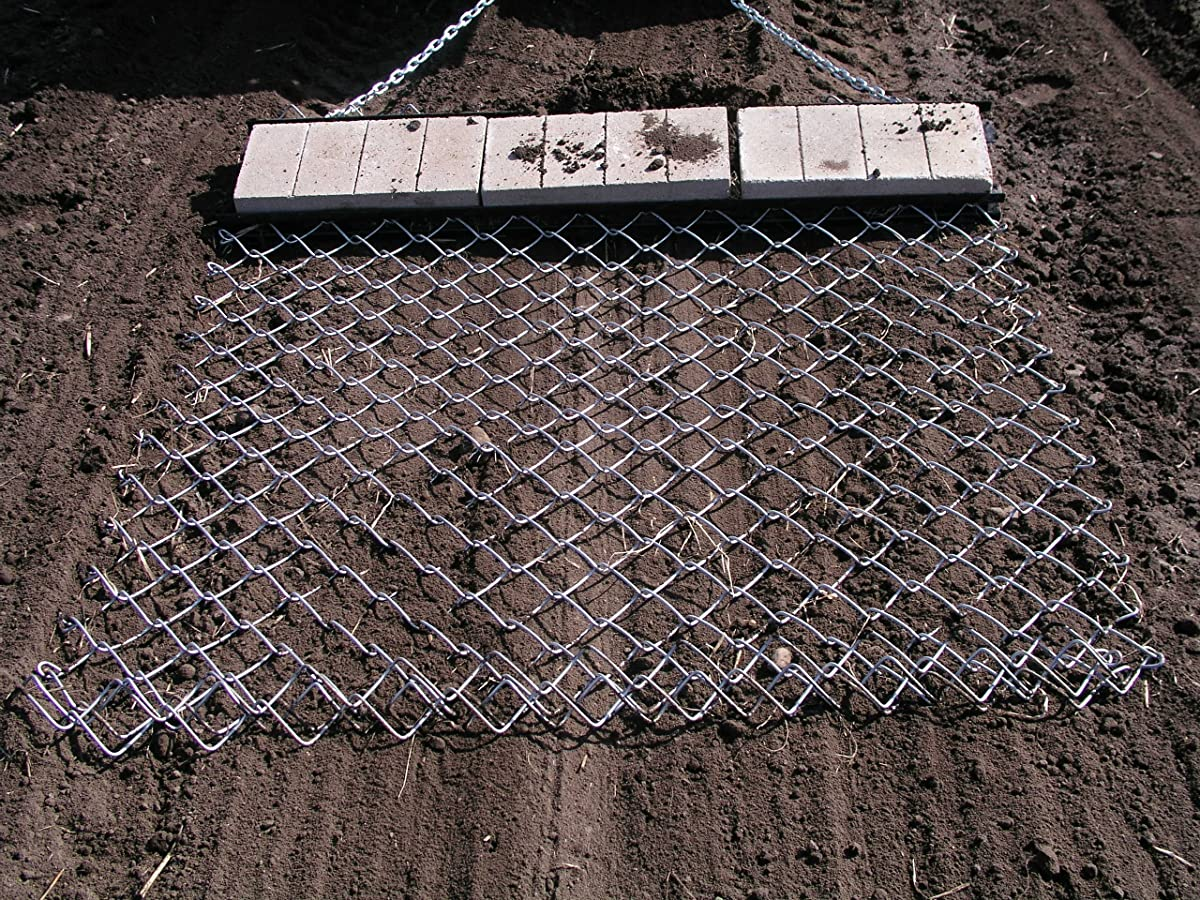 Yard Tuff DH-045 Drag Harrow, 4-feet x 5-feet