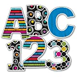 Colorful Chalkboard EZ Letters (Color: Multi-Color)